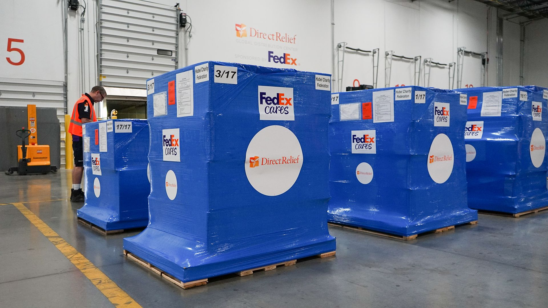FedEx Air & Ground Supports Direct Relief