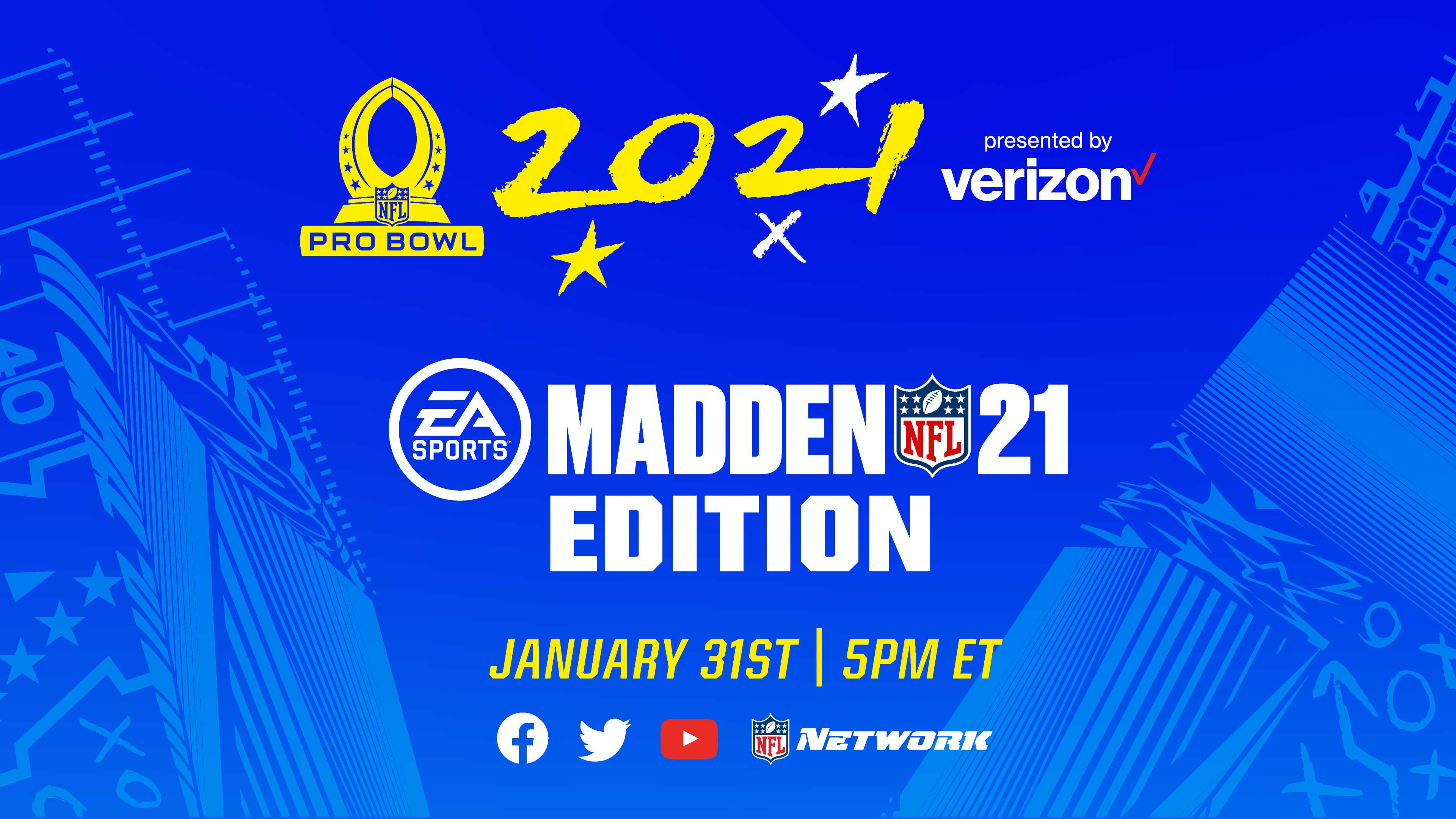 EA Madden x 2021 Pro Bowl presented by Verizon
