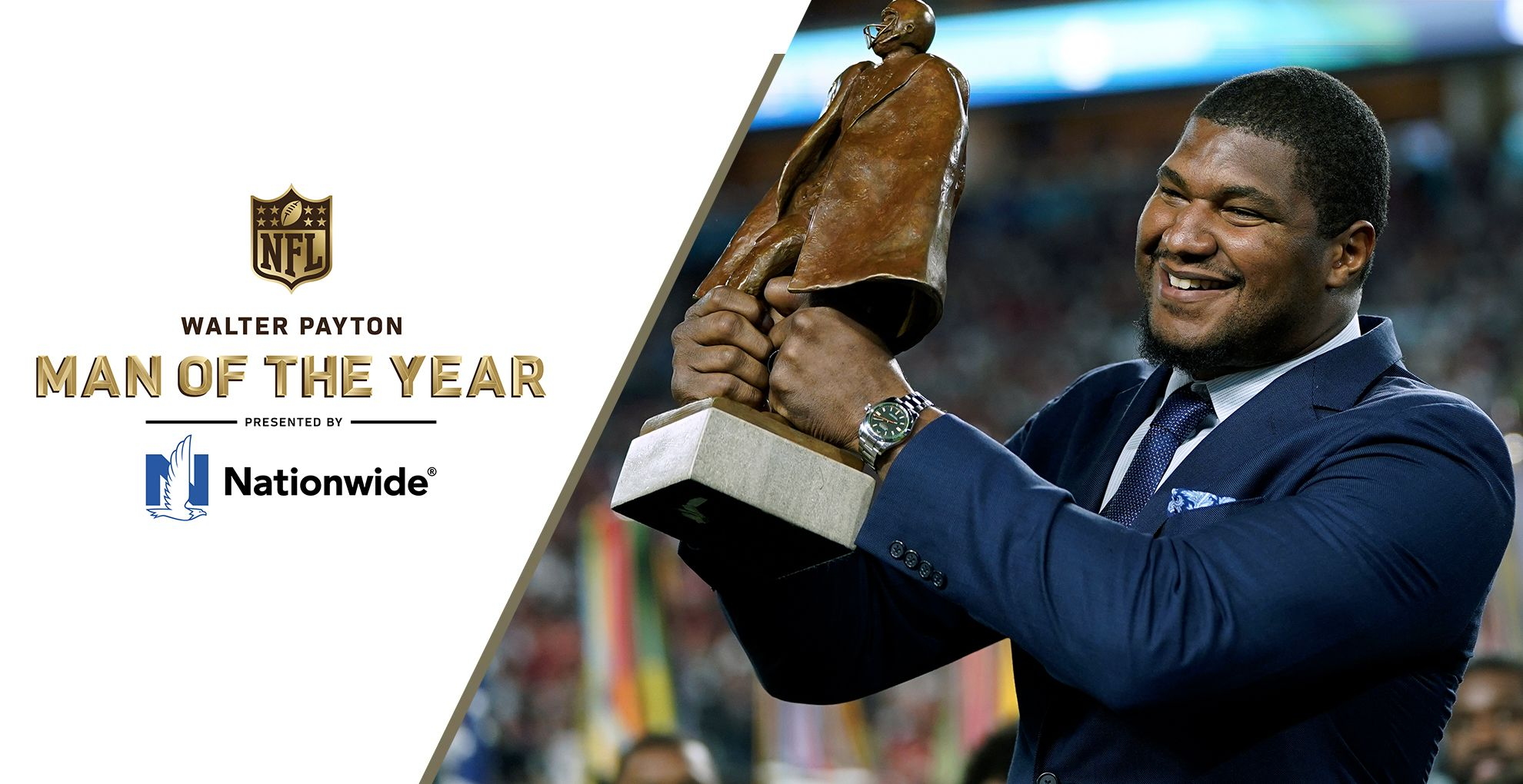 Walter Payton NFL Man of the Year