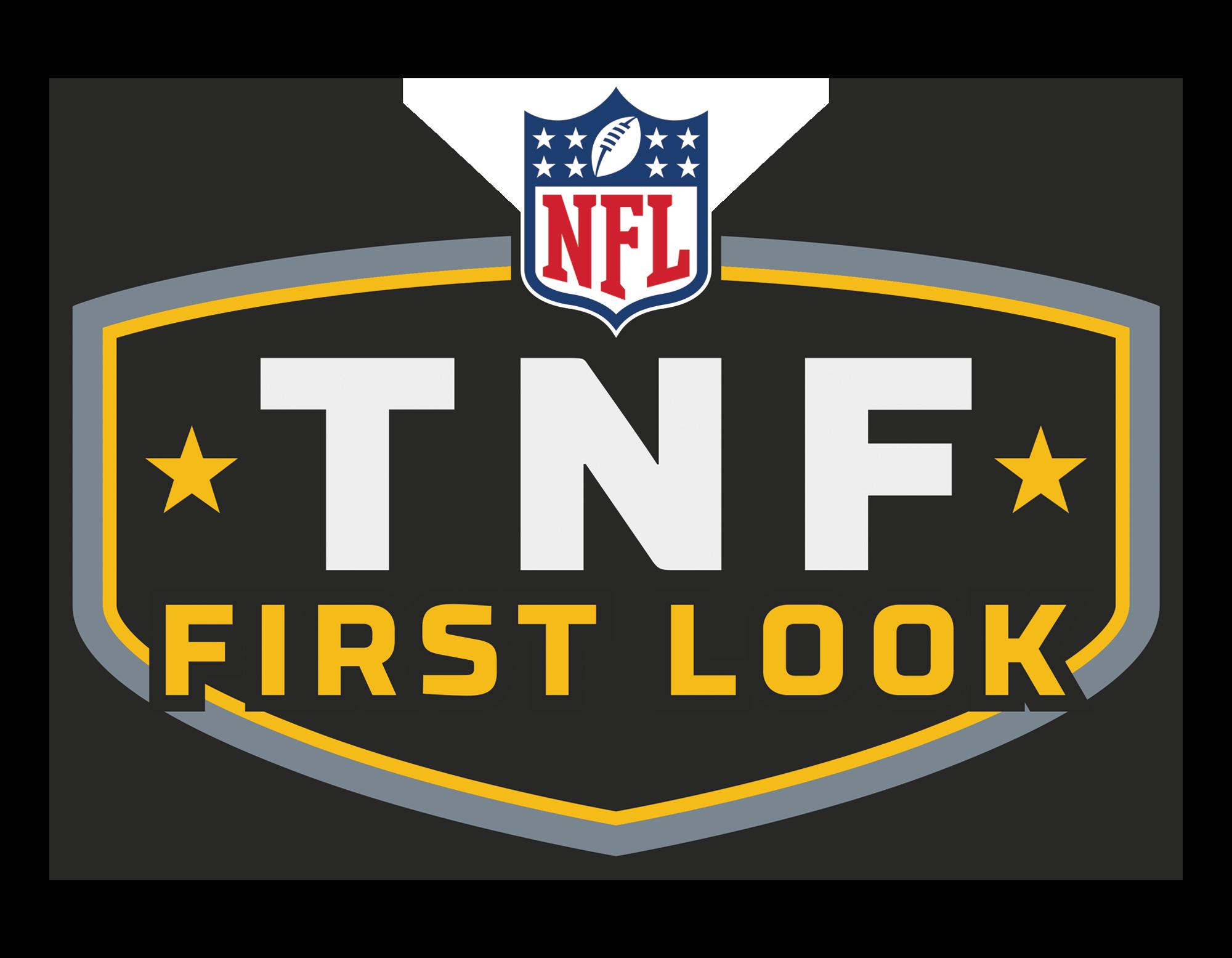 TNF FIRST LOOK | THURSDAYS 3PM ET
