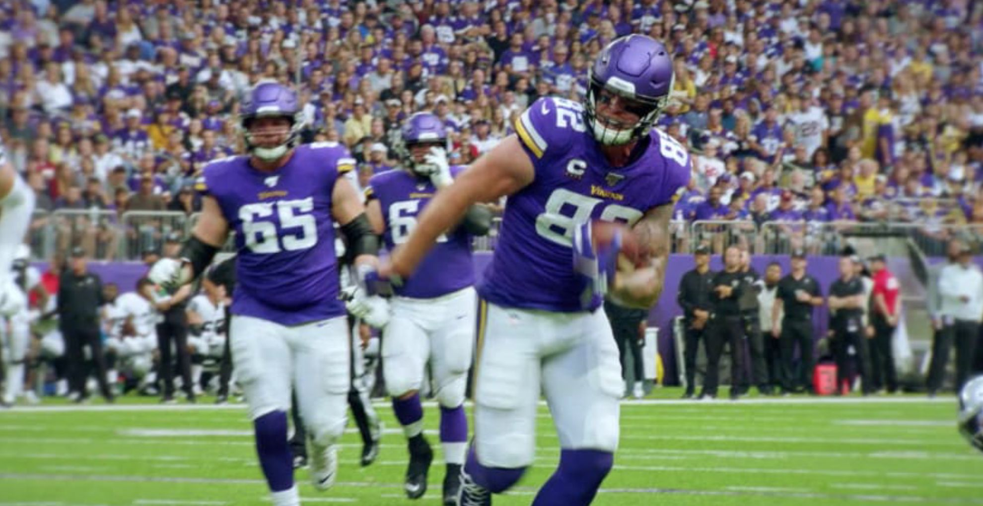 Kyle Rudolph Presents his Cause