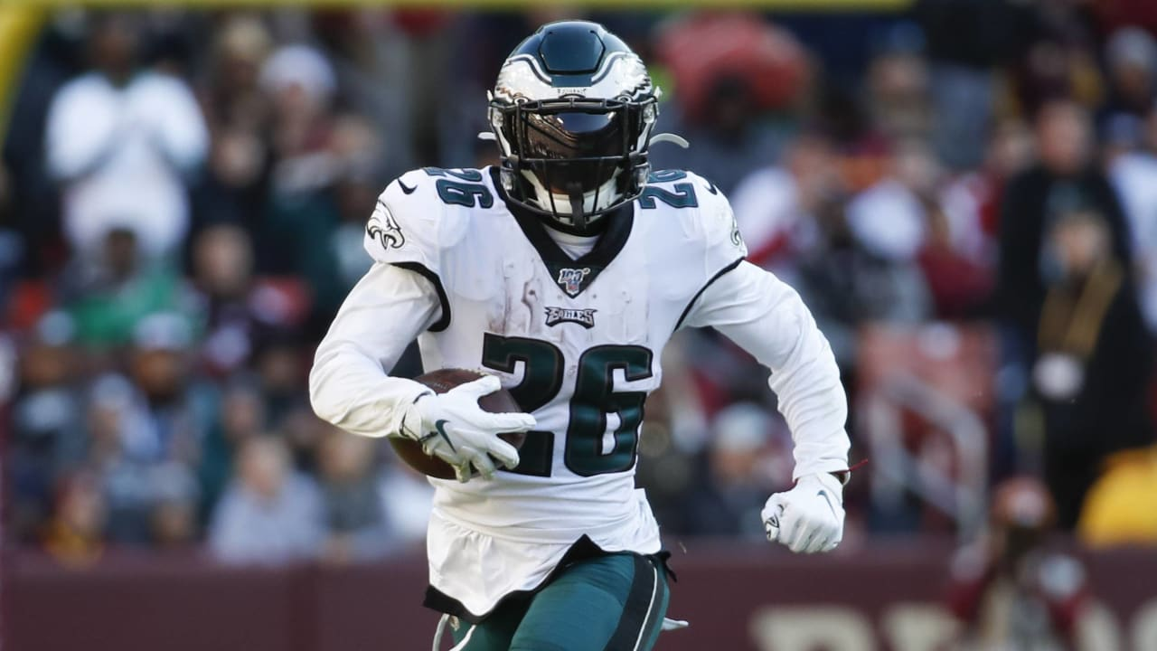 Eagles' Miles Sanders 'absolutely' ready for bigger workload