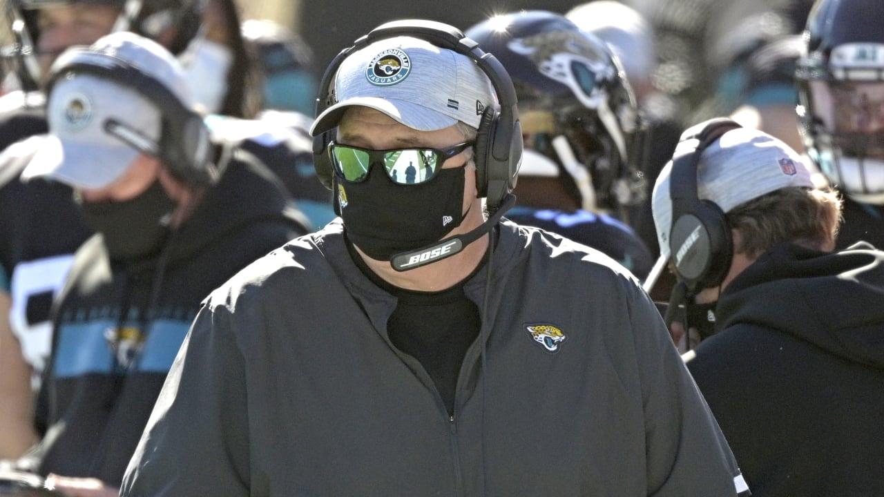 Jacksonville Jaguars fire head coach Doug Marrone