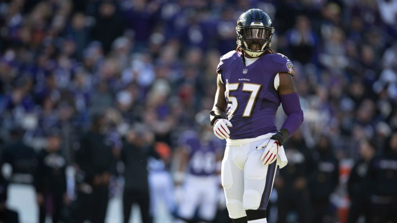 C.J. Mosley Baltimore Ravens AFC Pro Bowl Game Jersey