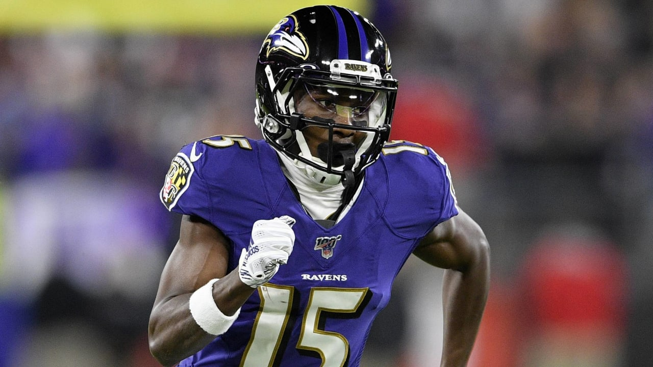Lamar Jackson sees 'huge jump' for Ravens WR Marquise Brown