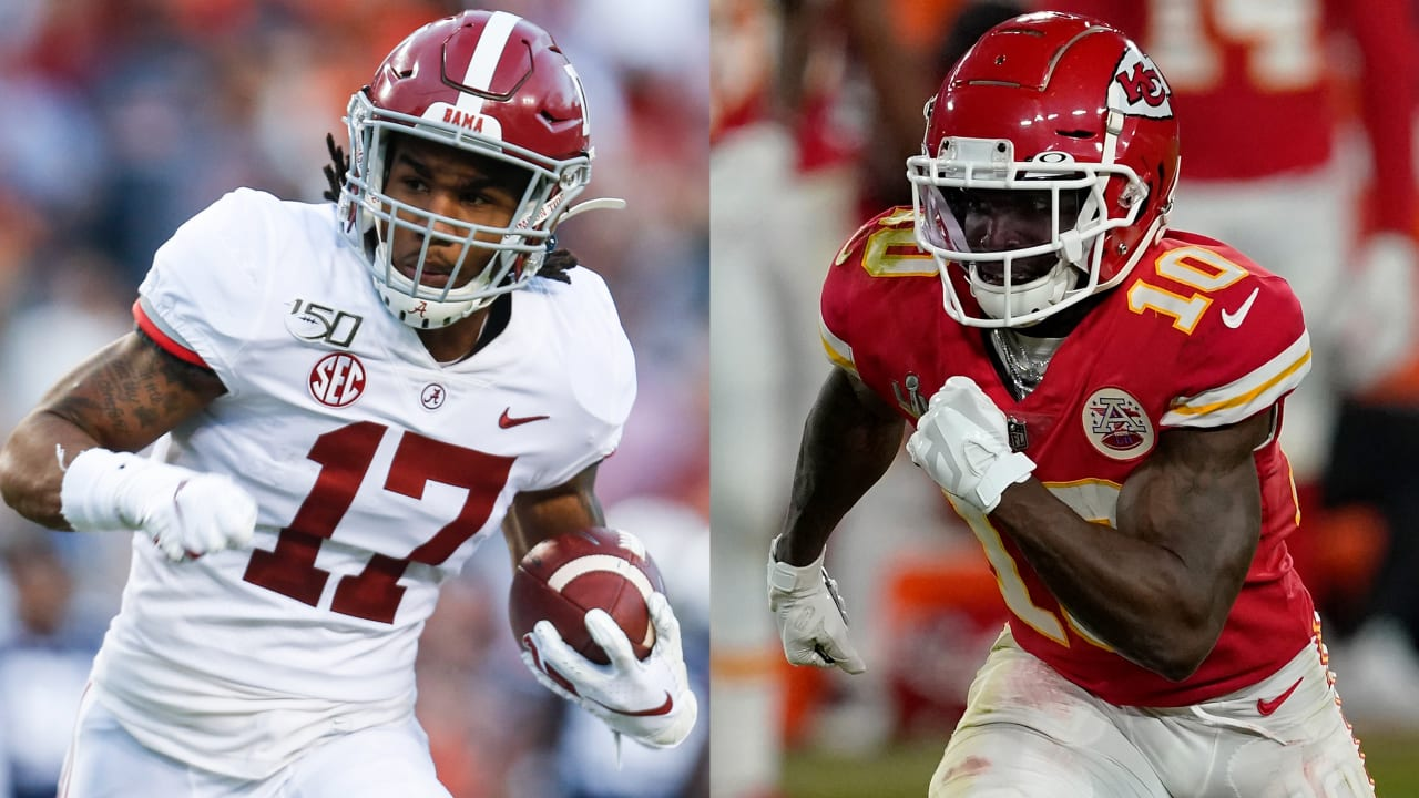 2021 NFL Draft: Prospect-pro comparisons for top receivers