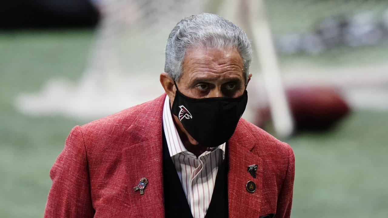 Arthur Blank says Falcons HC, GM search will be 'rich with diverse candidates'