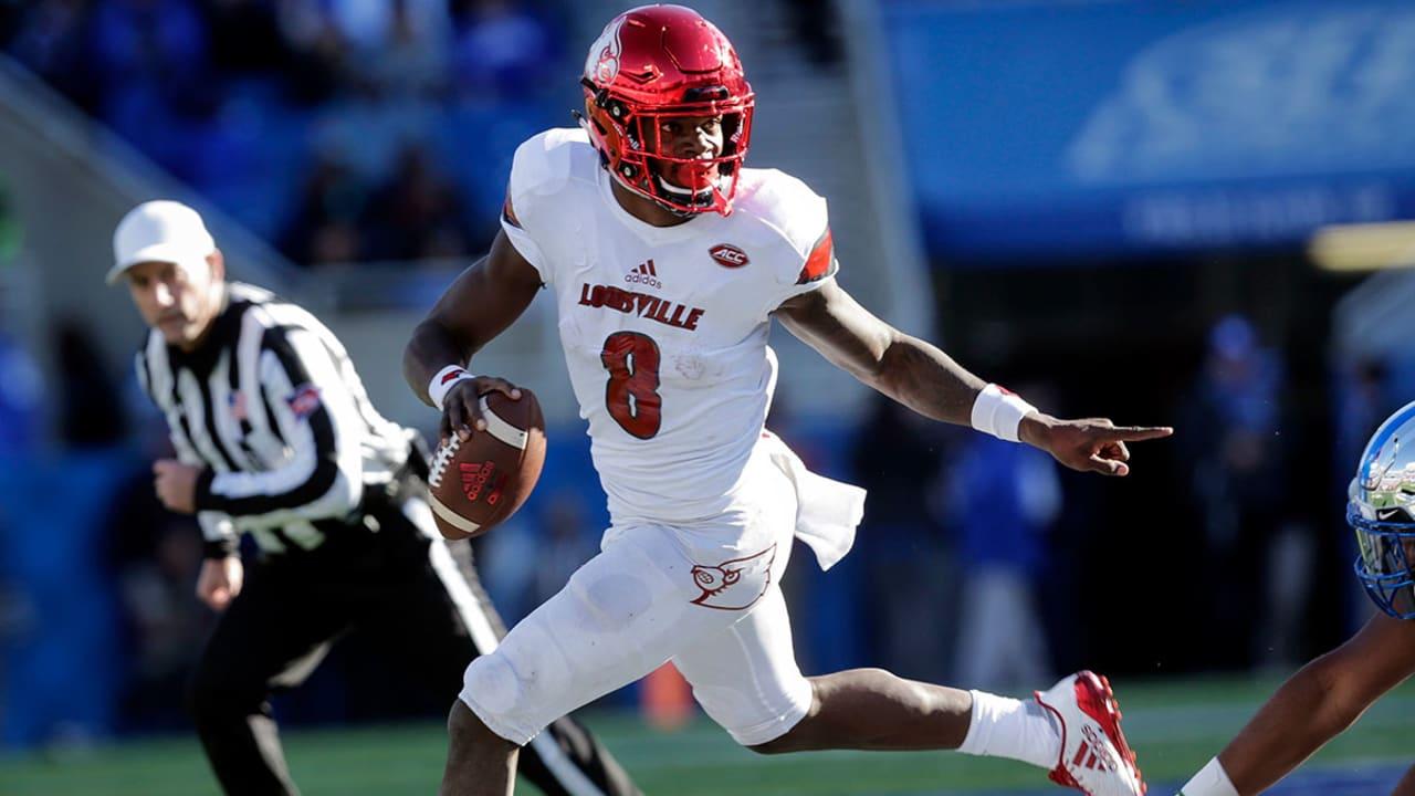 Book On Lamar Jackson Saints Jags Bengals Fit Louisville Qb