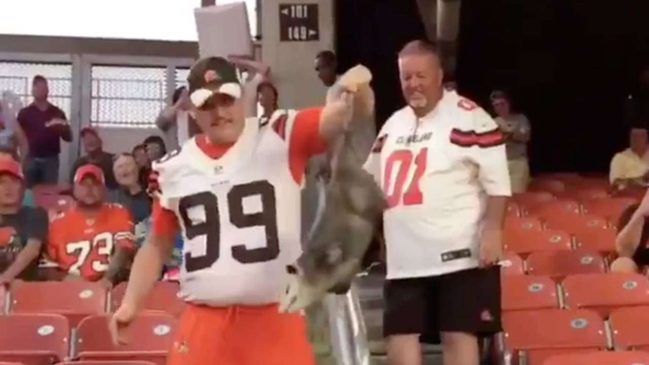 Why The Rally Possum Is The Browns Real Mvp