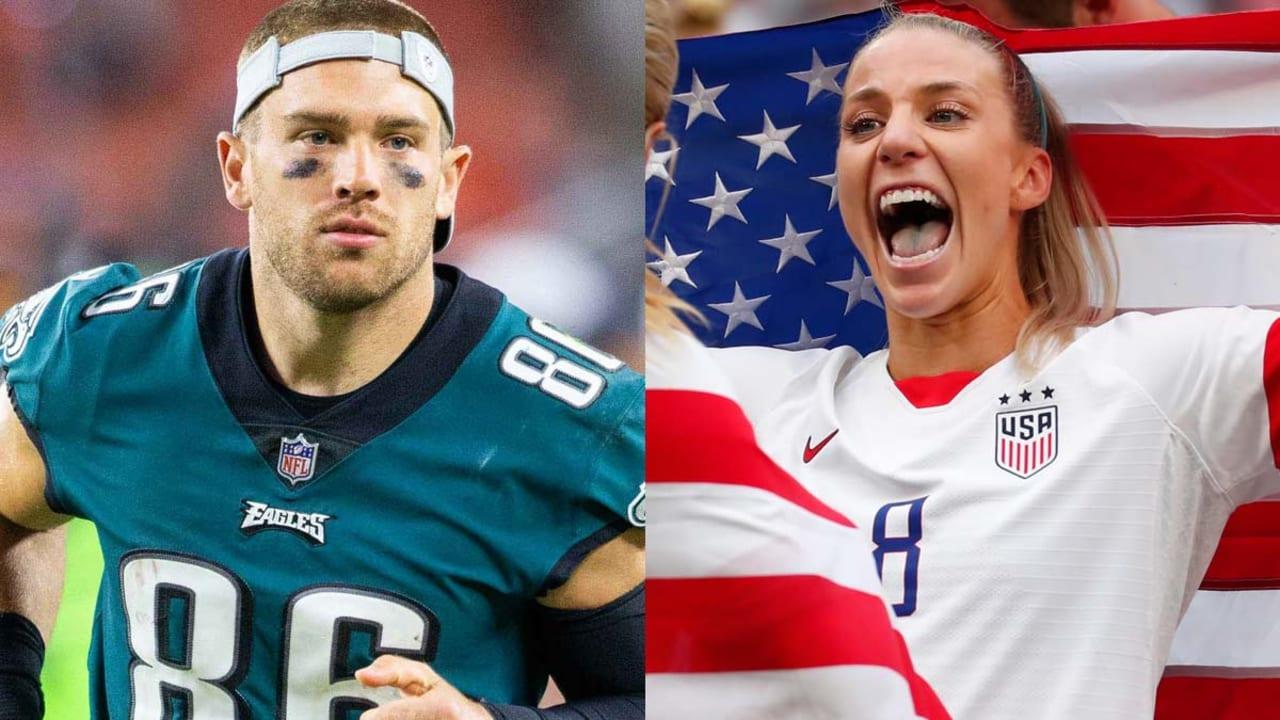 USWNT's Julie Ertz was most 'nervous' at Super Bowl