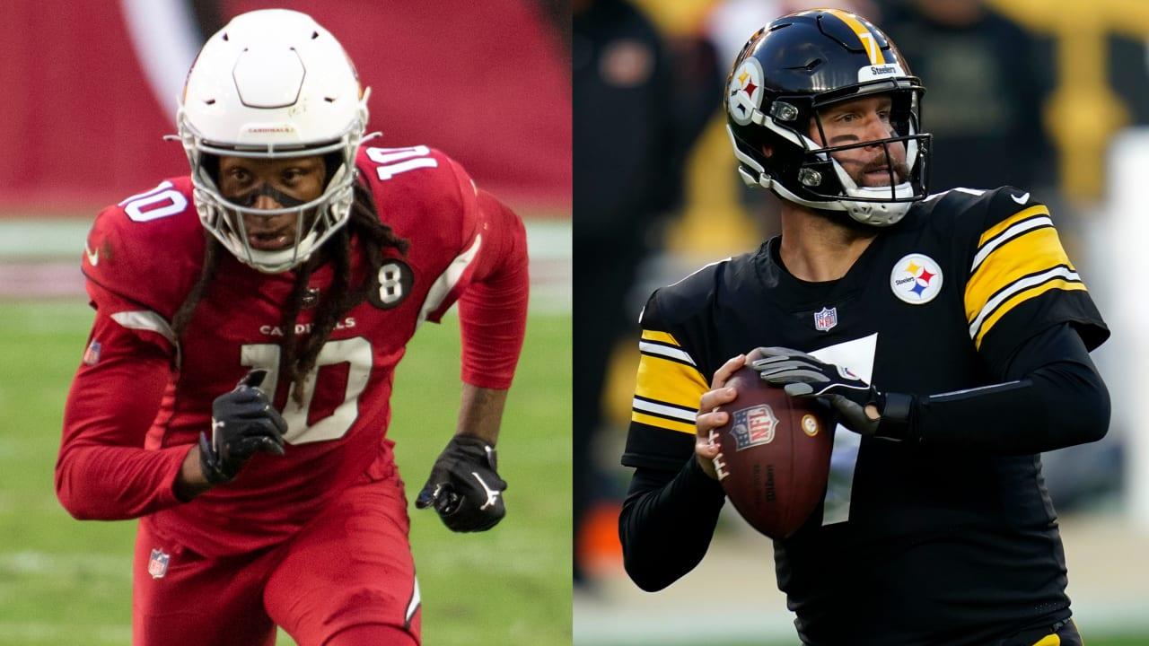 Cardinals WR DeAndre Hopkins Steelers QB Ben Roethlisberger among Players of the Week – NFL.com