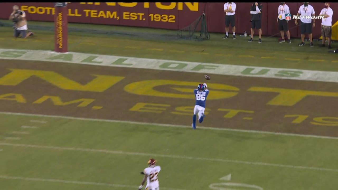 New York Giants wide receiver Darius Slayton drops would-be 43-yard  touchdown from quarterback Daniel Jones