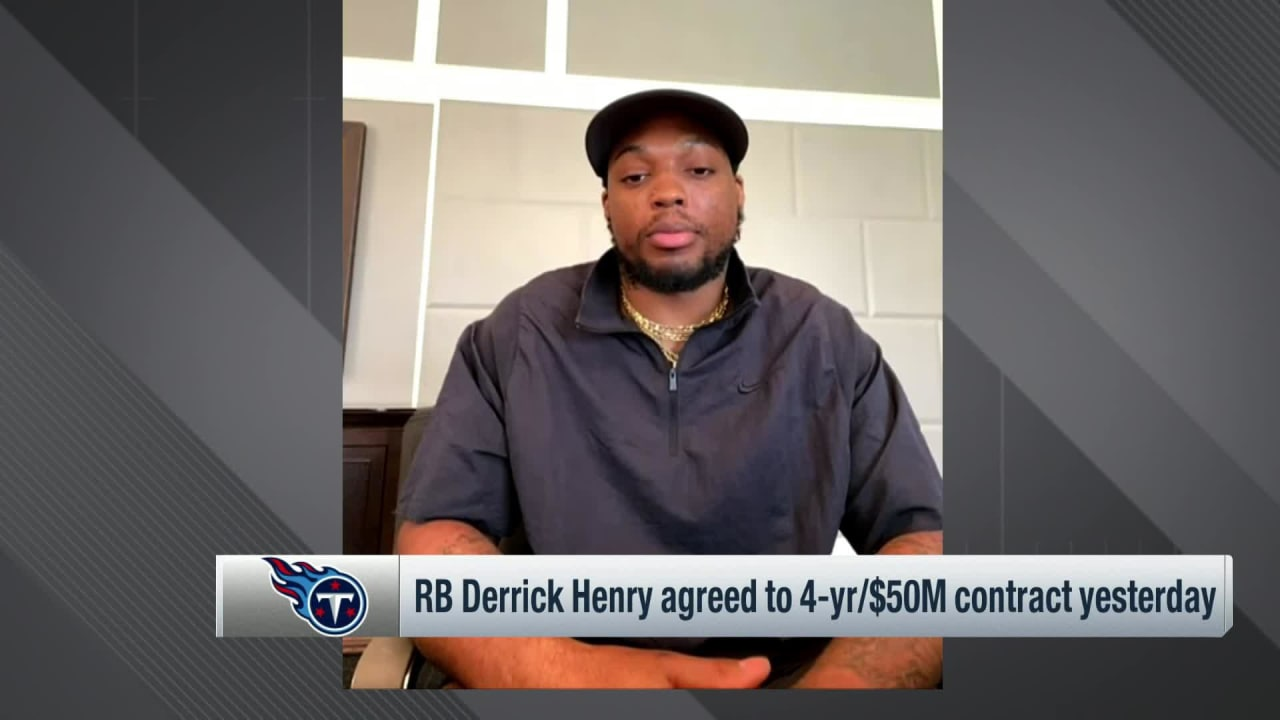 Derrick Henry: 'All for' new deal giving Titans room to add players – NFL.com