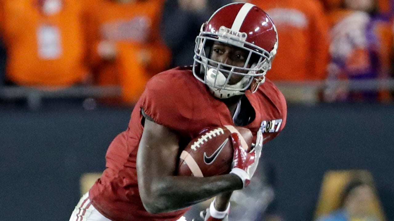 First Look Scouting Alabama Wr Calvin Ridley