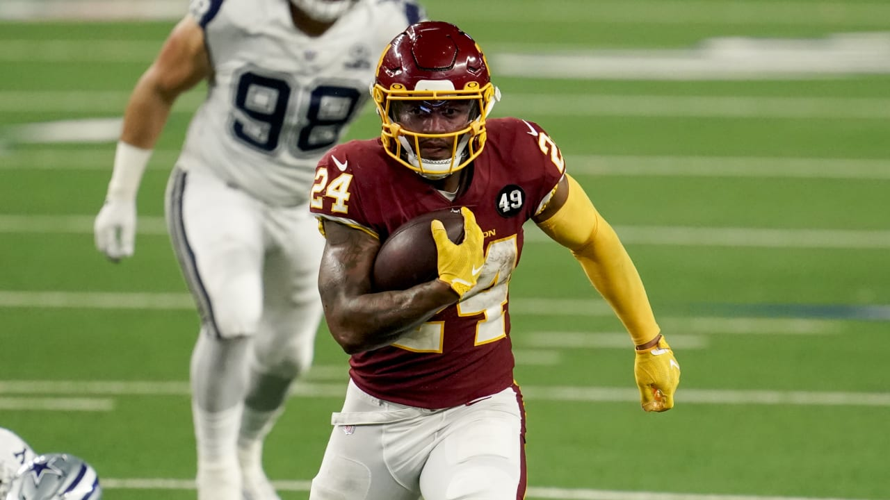 Washington RB Antonio Gibson shows 'so much potential and ability' with 3-TD day vs. Cowboys