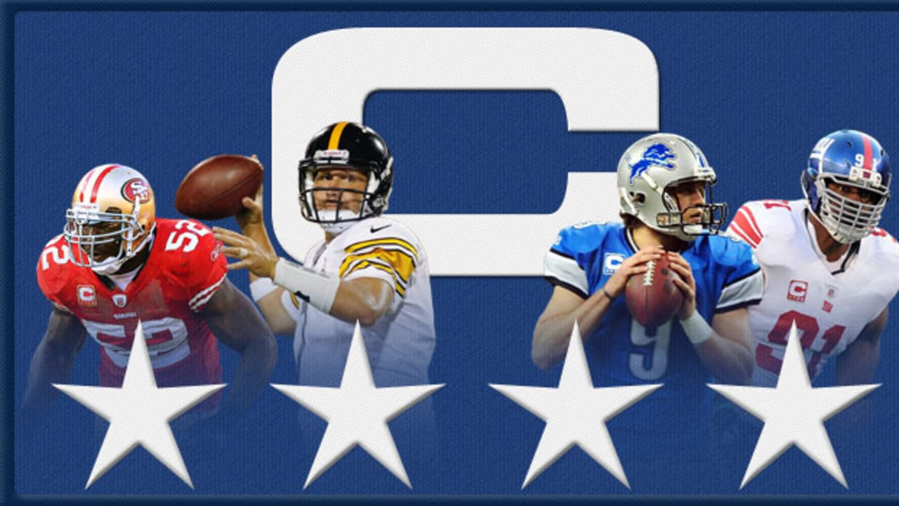 NFL captains: 'C' patch comes with varied roles, responsibilities