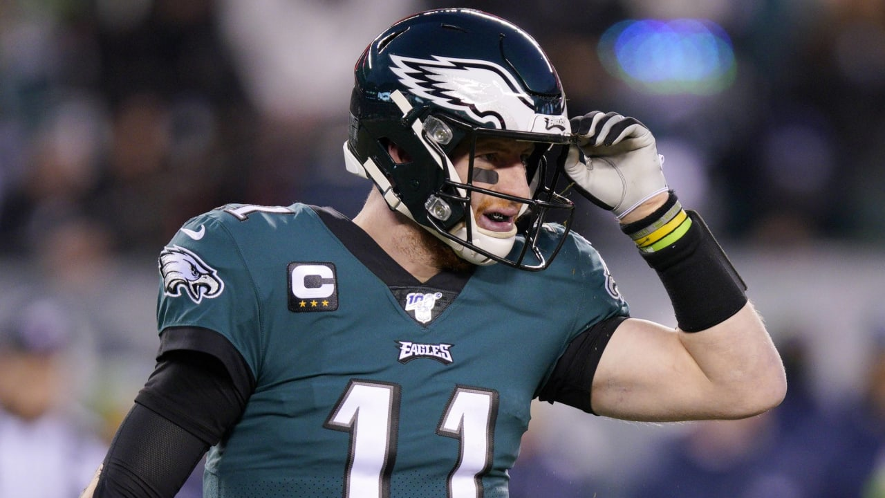 Carson Wentz Bulks Up For 2020 I Feel Really Good With Where I M At