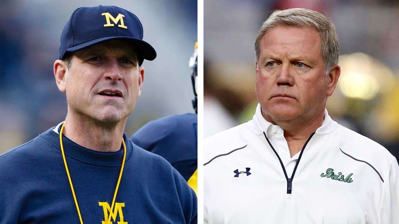 Notre Dame, Michigan to renew football rivalry in 2018