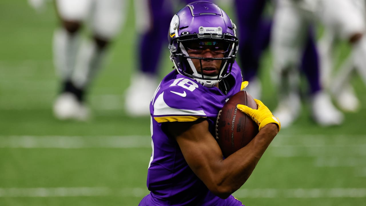 Vikings WR Justin Jefferson looks to catch rookie record ...