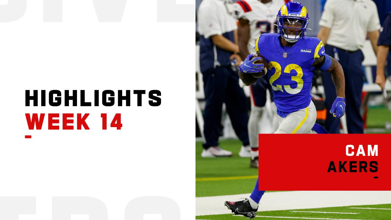 Los Angeles Rams Rookie Running Back Cam Akers Best Runs From 171 Yard Night Week 14