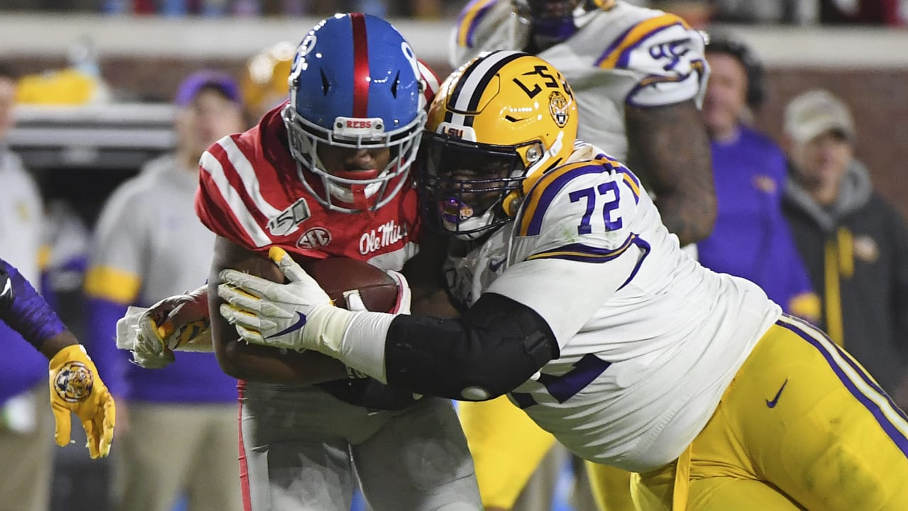 LSU's Tyler Shelvin opts out of 2020 college season, intends to enter 2021  NFL Draft