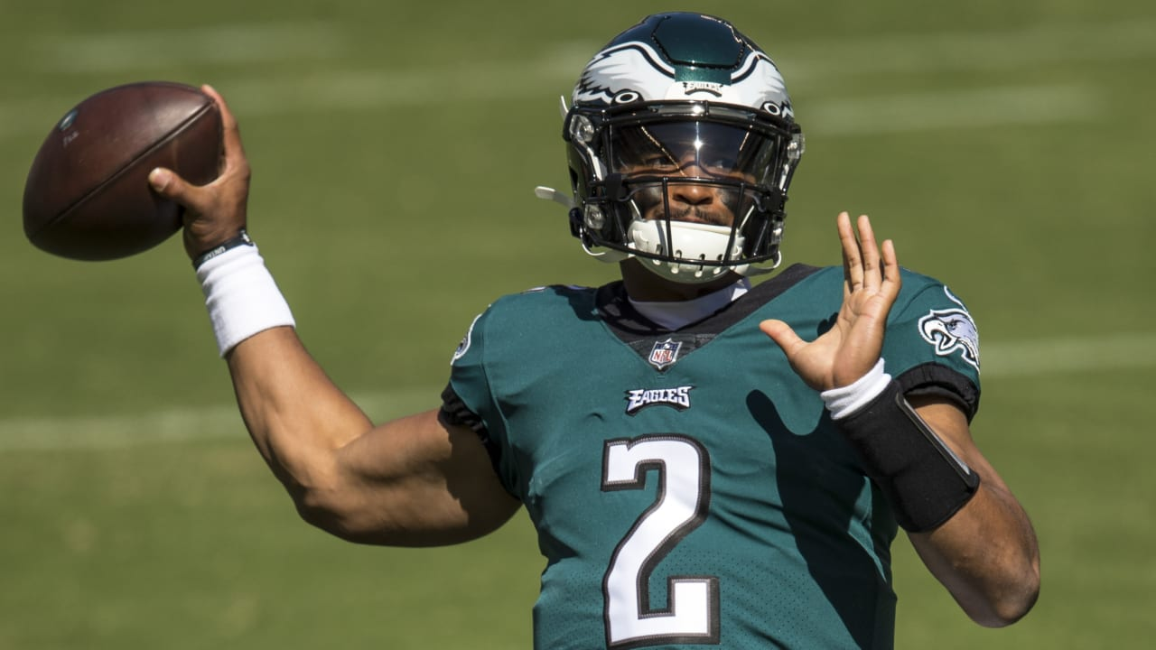Eagles plan to give Jalen Hurts his most snaps this season on Monday