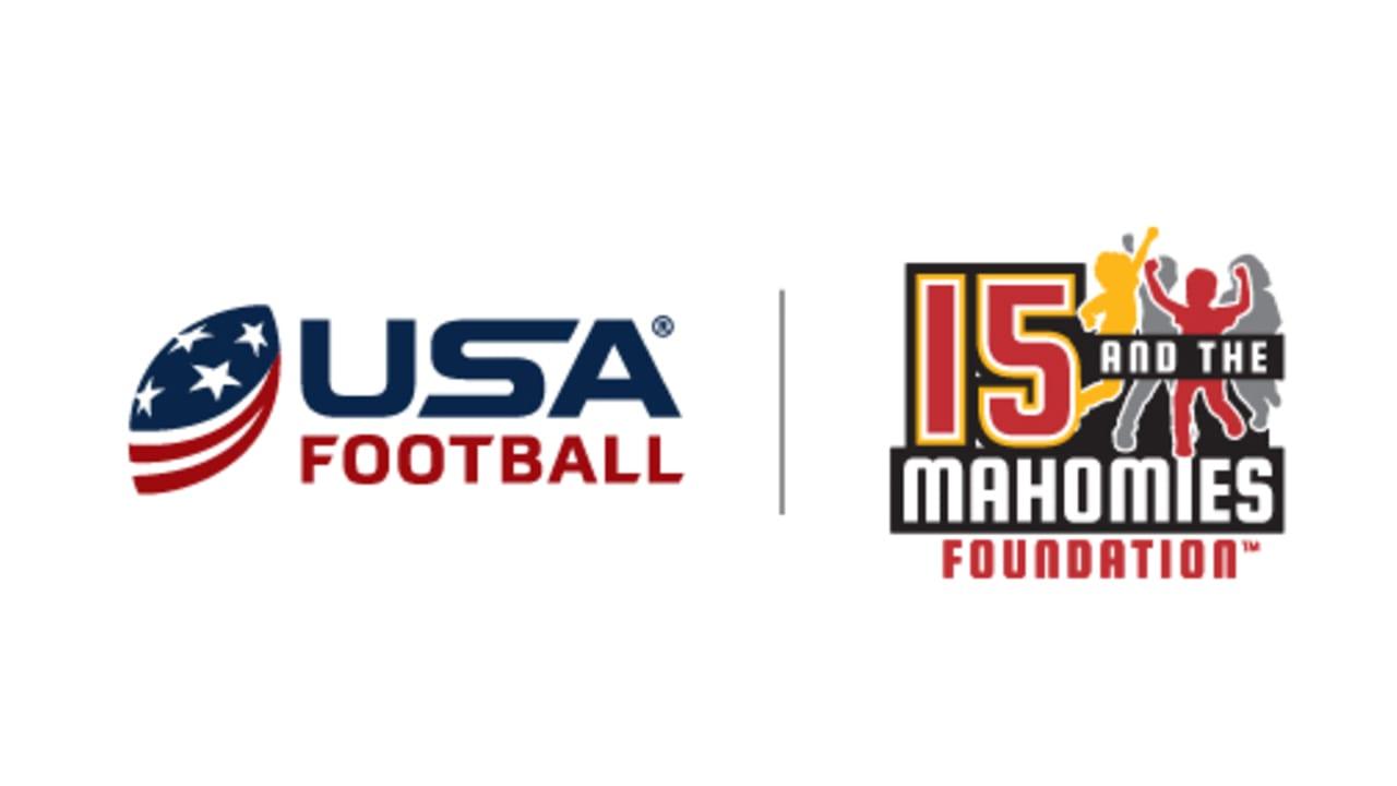 15 and the Mahomies Foundation teaming with USA Football to host youth football coach clinics, award grants