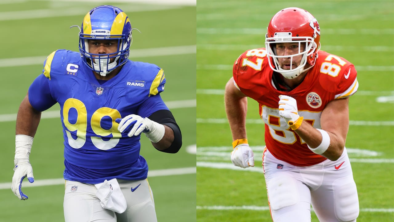 2020 All-Pro Team: Aaron Donald, Travis Kelce highlight roster