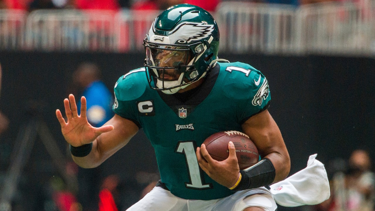 Eagles QB Jalen Hurts 'in complete control' in blowout win over Falcons - NFL.com
