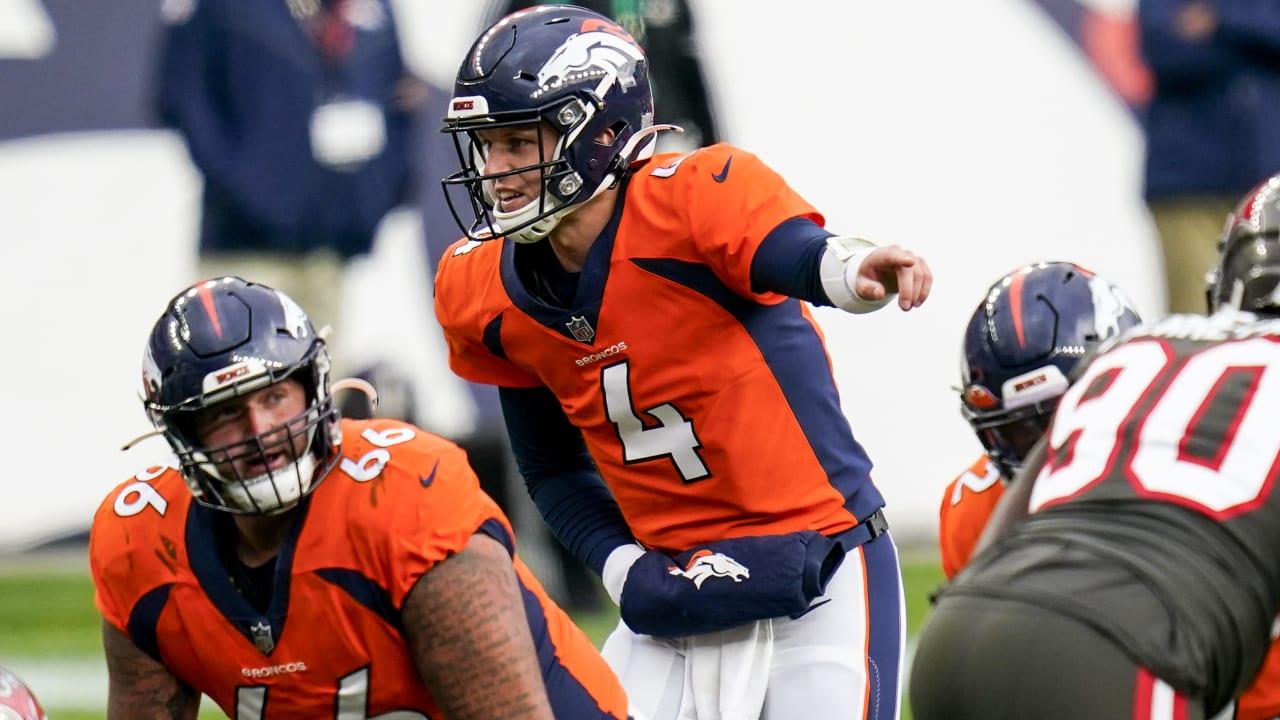 Denver Broncos To Start Qb Brett Rypien Vs New York Jets On Thursday