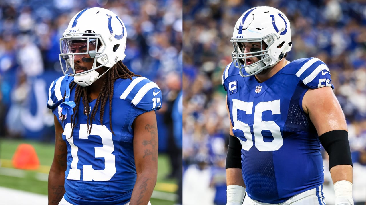 Colts WR T.Y. Hilton (quad) downgraded to out vs. 49ers; Quenton Nelson activated from injured reserve