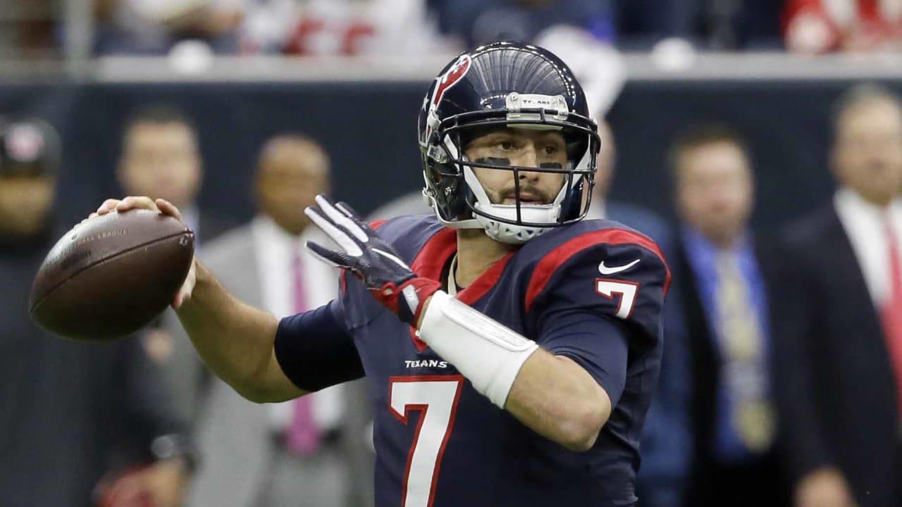 Houston Texans Release Veteran Qb Brian Hoyer