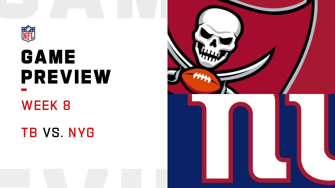 tampa bay buccaneers vs new york giants preview week 8 tampa bay buccaneers vs new york