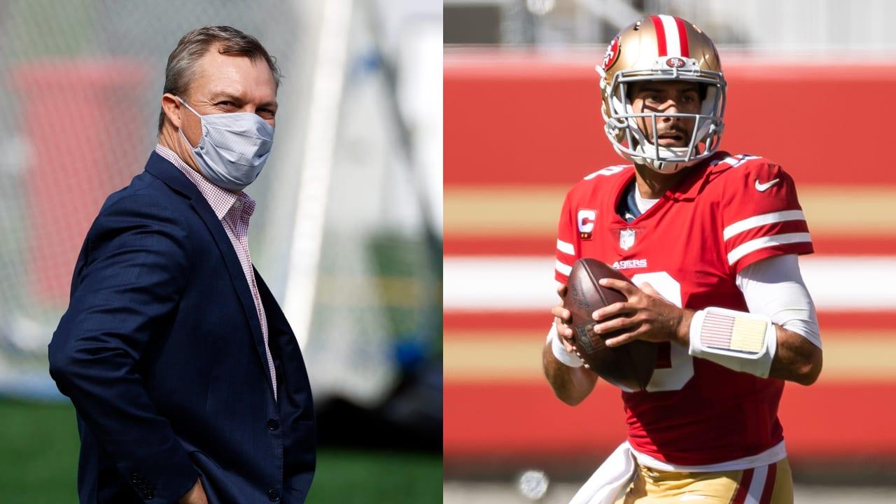 news 49ers GM John Lynch confident in Jimmy Garoppolo as San Francisco's QB if healthy When - NFL.com