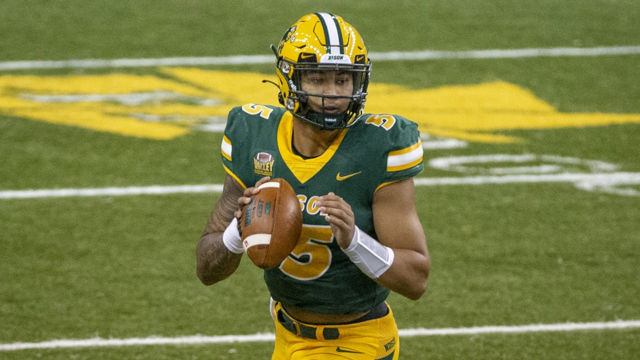 North Dakota St. QB Lance declaring for 2021 NFL Draft