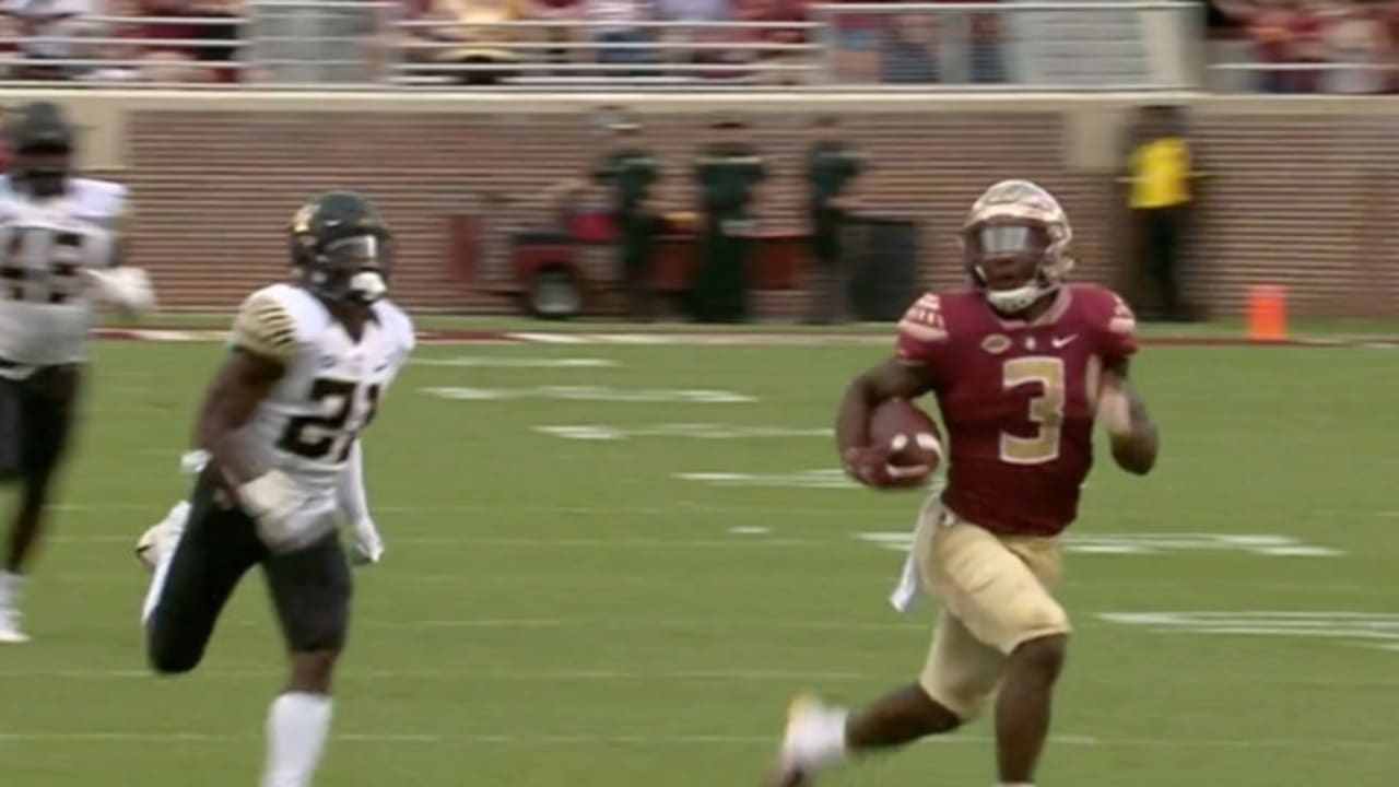 2020 Nfl Draft Breaking Down Cam Akers College Highlights