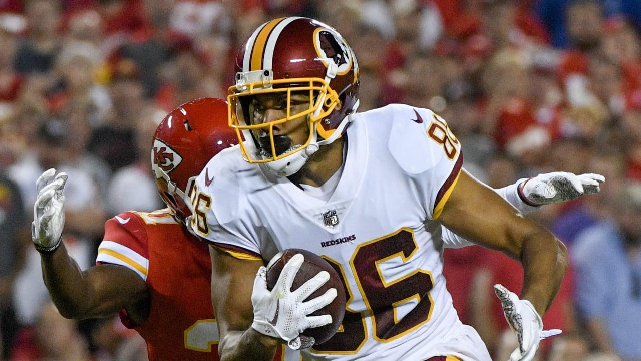 Redskins' Jordan Reed feels '100 times better' than '17