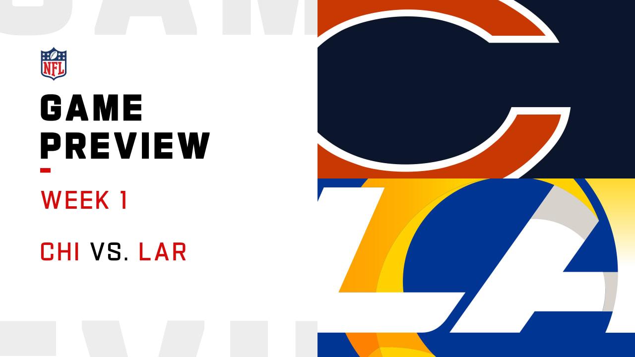 Chicago Bears vs. Los Angeles Rams preview | Week 1