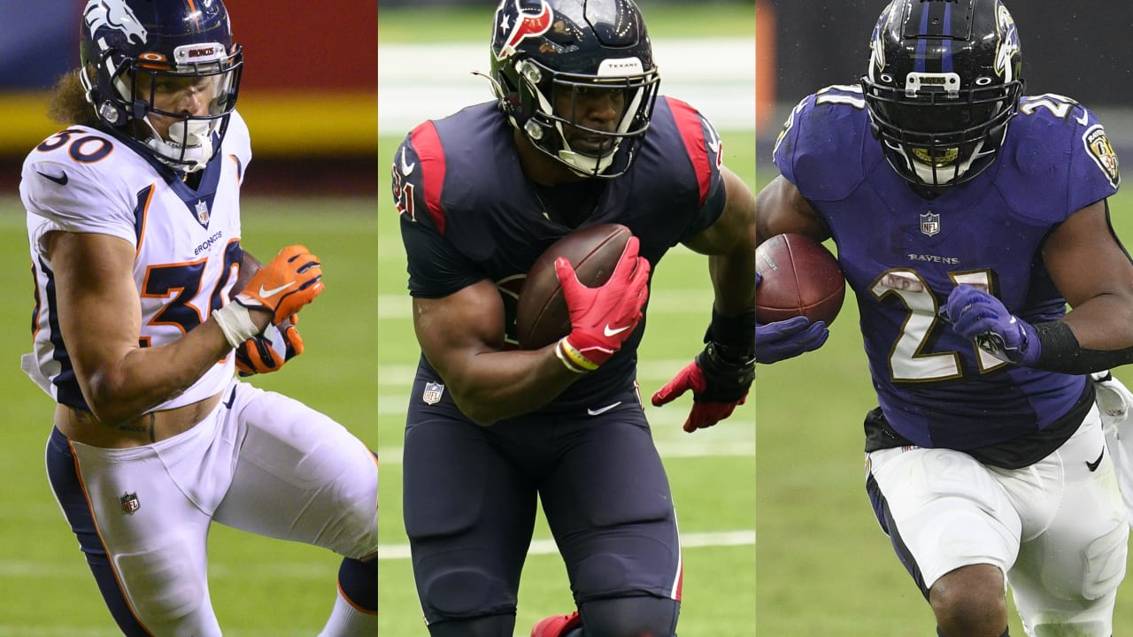 David Johnson: 'Competition' with Mark Ingram, Phillip Lindsay will make  Texans better in 2021