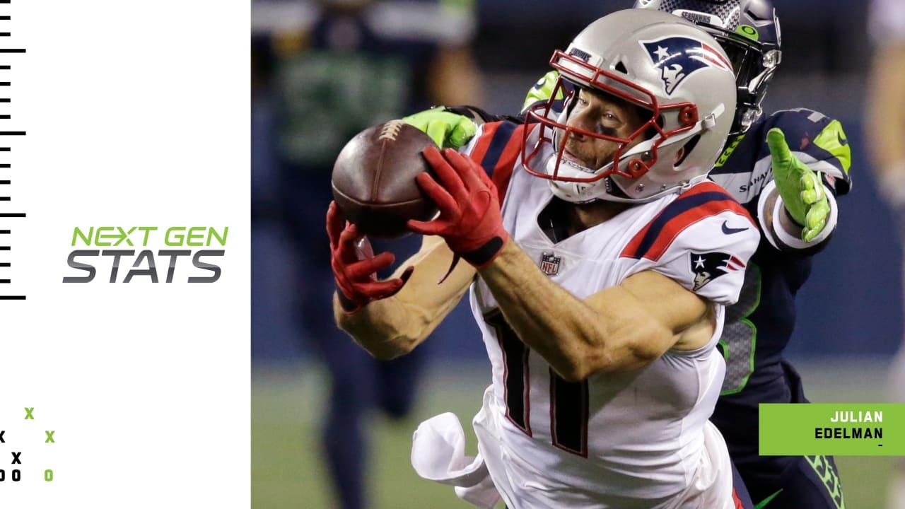 Next Gen Stats New England Patriots Wide Receiver Julian Edelman Set Up For A Big Performance In Week 3