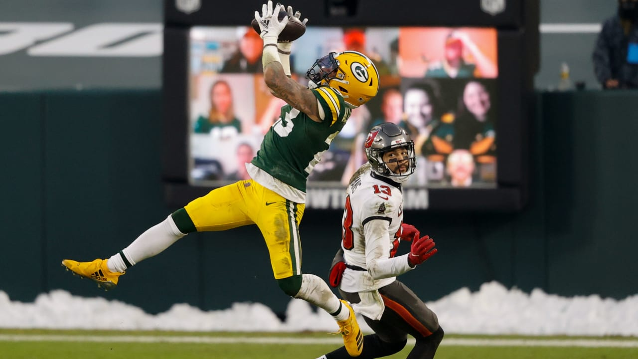 Green Bay Packers cornerback Jaire Alexander capitalizes on Packers'  pressure for his second INT