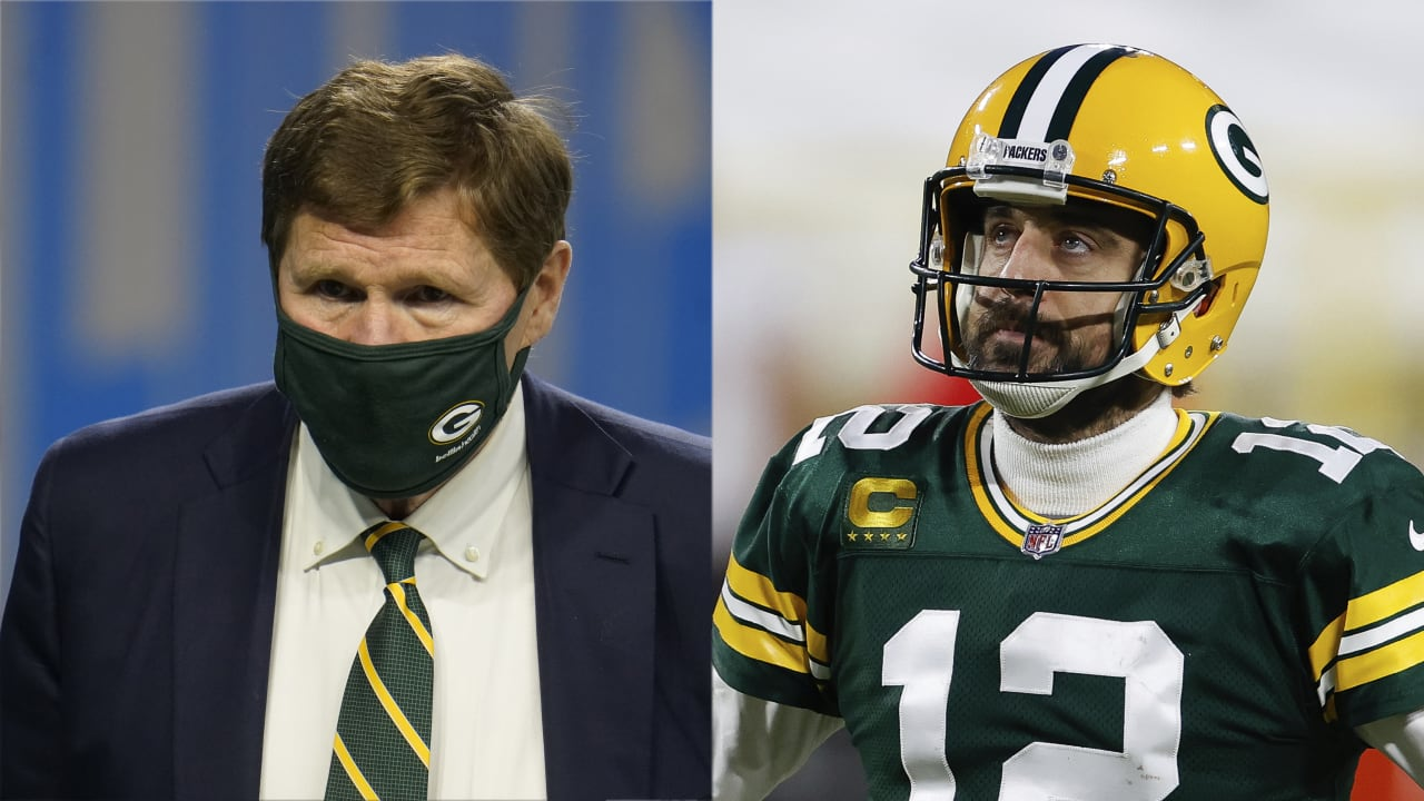 Packers CEO: No way Aaron Rodgers leaves, 'we're not idiots'