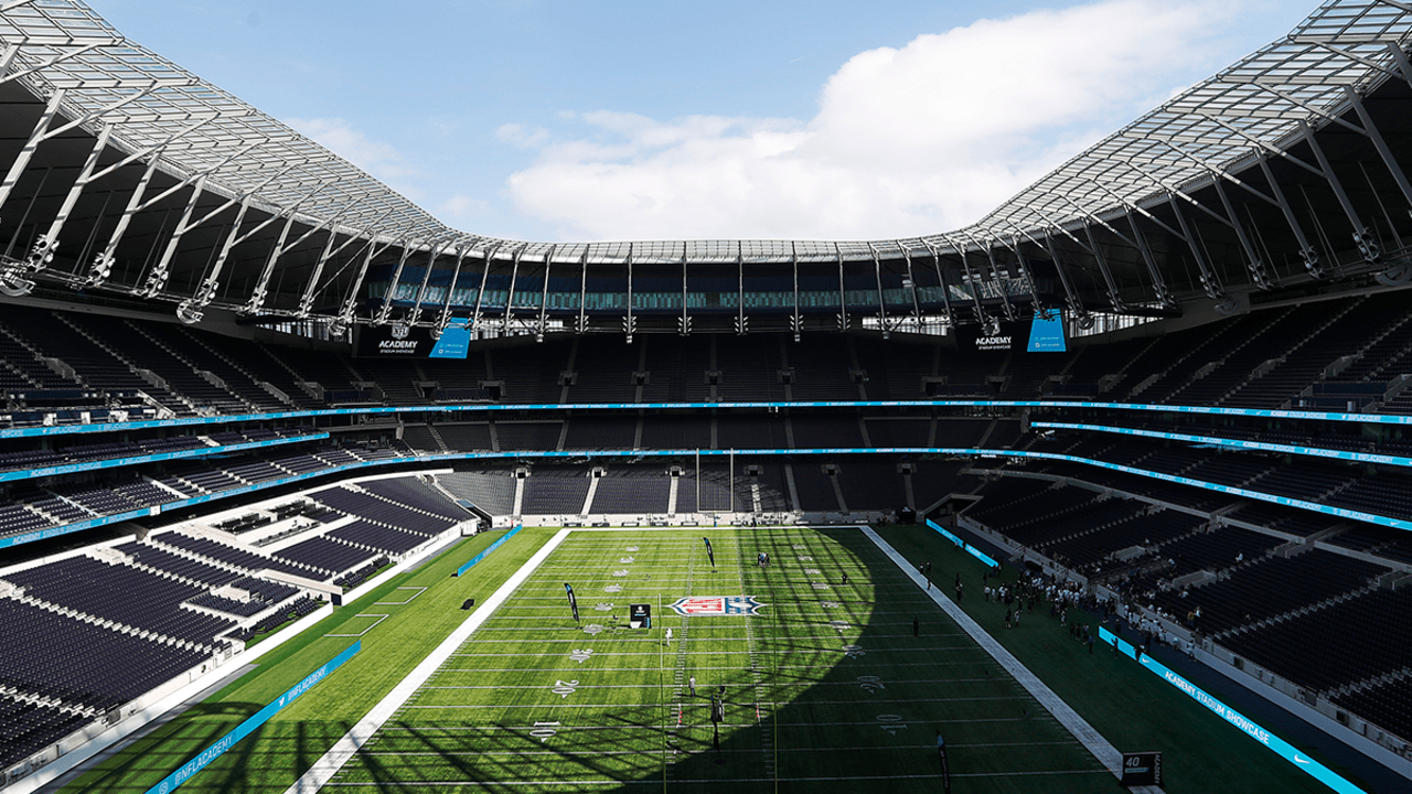 Tottenham Hotspur Stadium S Nfl Transformation Is Mesmerizing