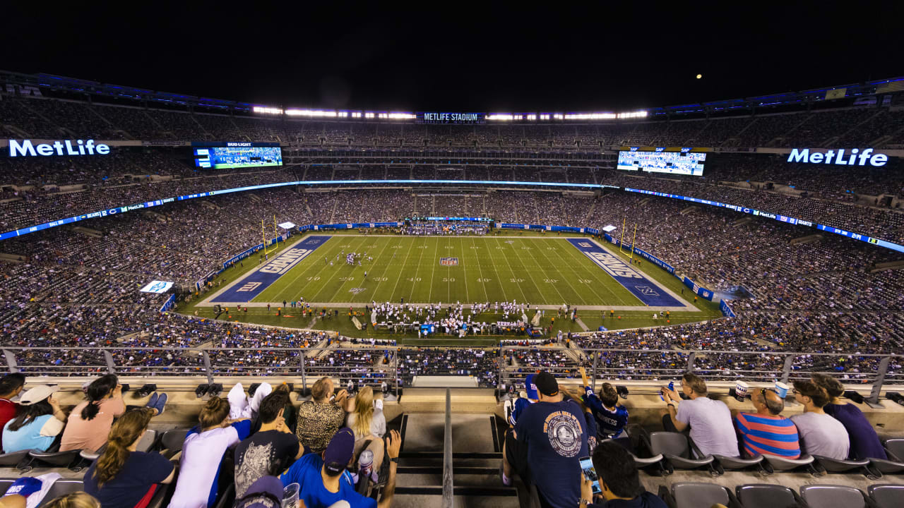 Giants, Jets to play without fans at MetLife Stadium in 2020