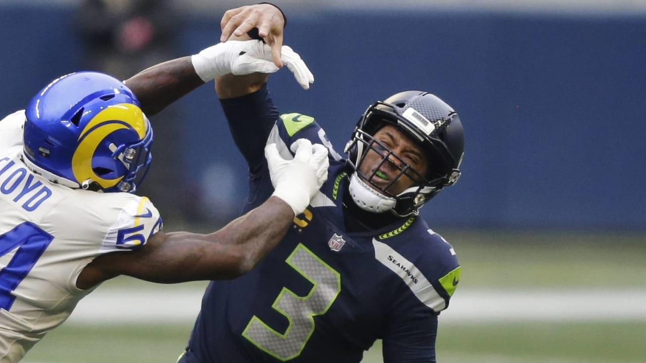 Russell Wilson: Seahawks offense 'flatlined' in second half vs. Rams – NFL.com