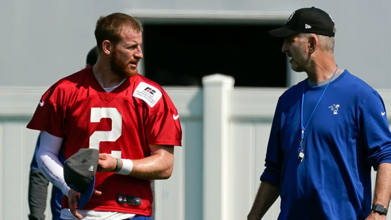 Colts DC says no timetable on Wentz; Reich expected back Monday