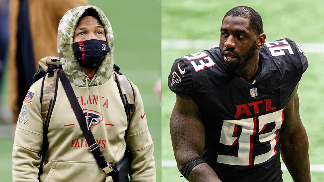 Atlanta Falcons release veteran safety Ricardo Allen, DE Allen Bailey