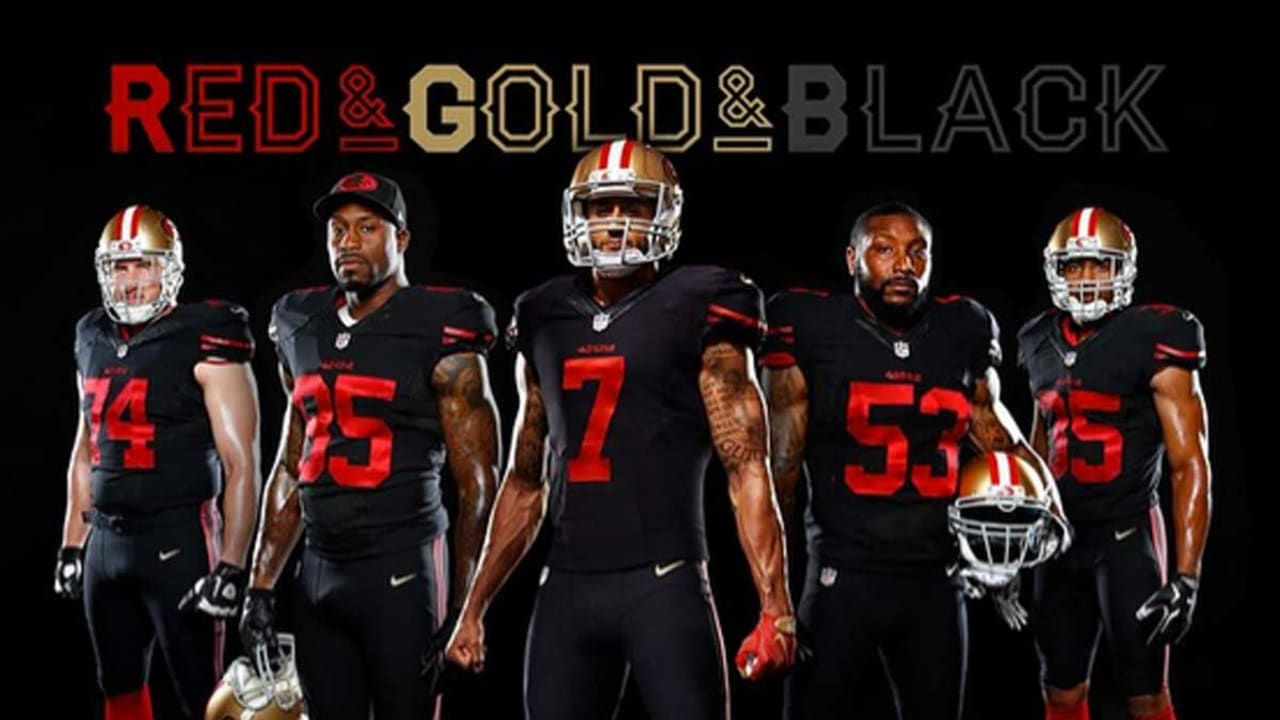 49ers unveil first alternate uniform in team history