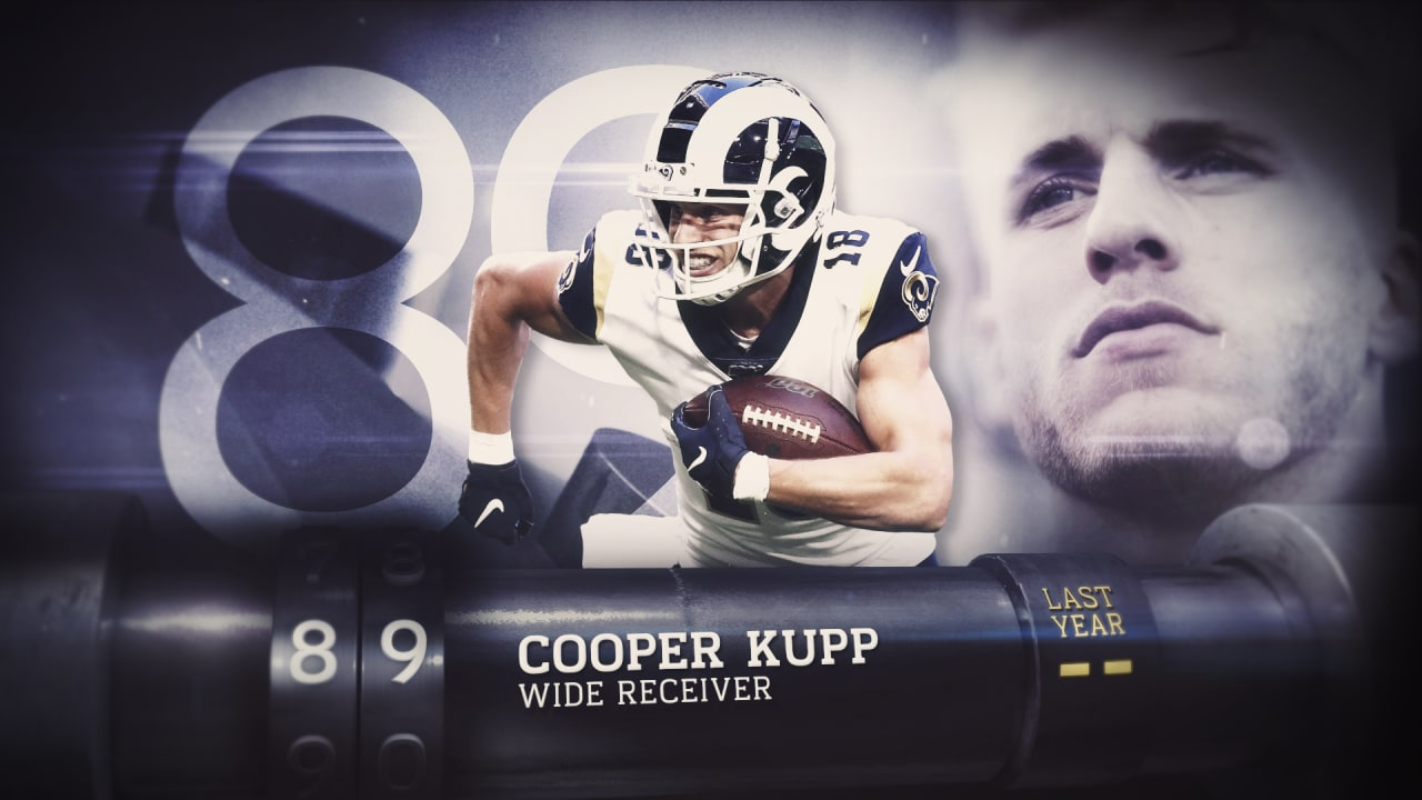 Top 100 Players Of 2020 Los Angeles Rams Wide Receiver Cooper Kupp No 89