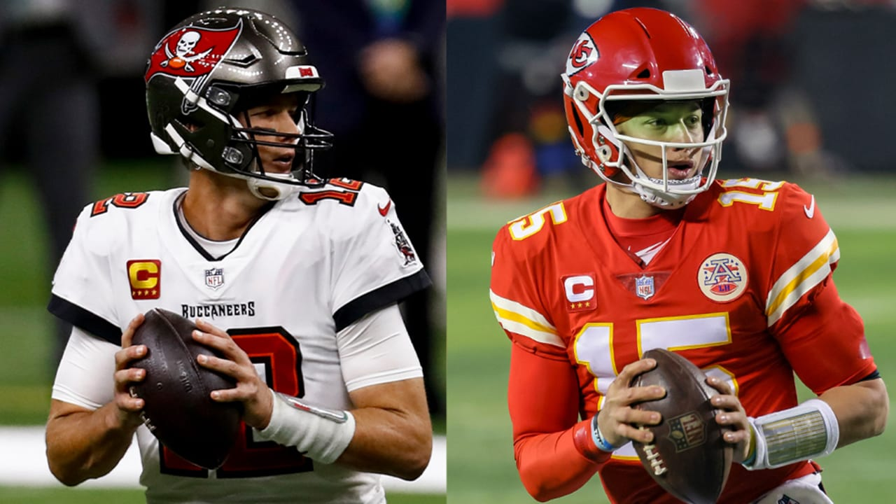 Buccaneers will wear white jerseys, Chiefs will be in red for ...